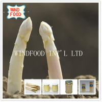 White Asparagus in Glass Pot